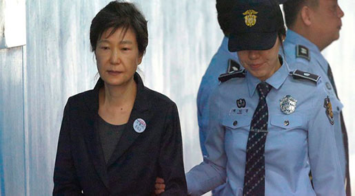 Former South Korean President Guilty of Abusing Power