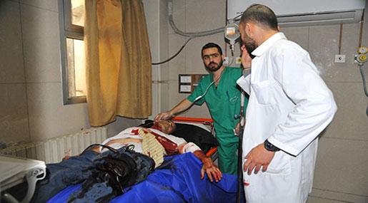Damascus Terrorist Attack: Four Civilians Martyred, Dozens Injured