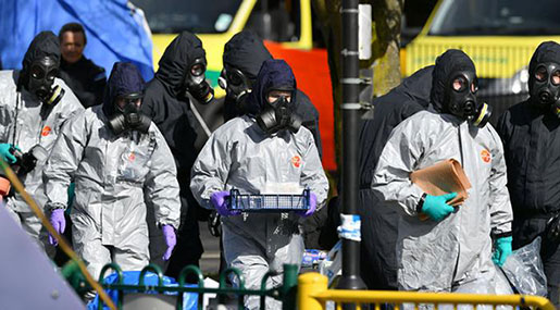 OPCW Confirms Skripals Poisoned With Nerve Agent Novichok