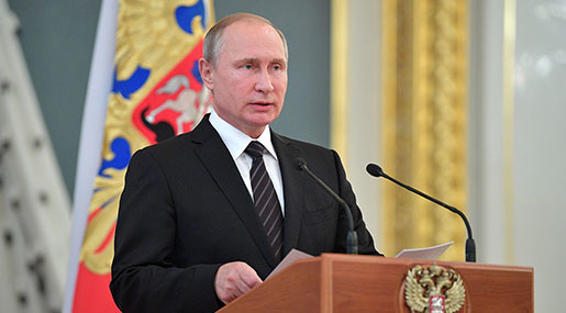 Putin: World Getting More Chaotic, We Hope Common Sense Will Prevail