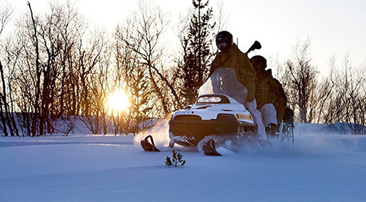 Norwegian Soldiers Go Astray, End Up in Finnish Fells