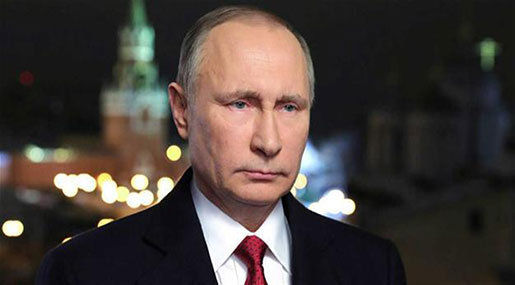 Putin: Strikes in Syria a Violation of International Law