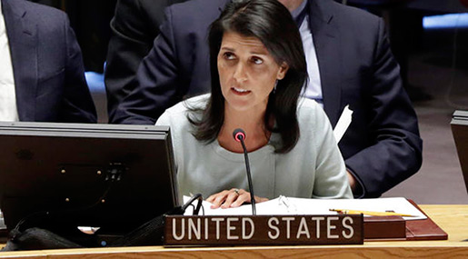 US To Hit Russia with New Sanctions for Aiding Syrian Gov't