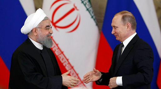 Putin, Rouhani Condemn US Syria Strike: Attack Damaged Political Settlement, Provoked Int'l Ties Chaos