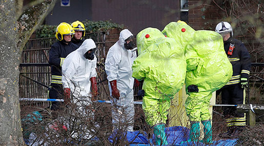 Skripal Case: Used Nerve Agent Was In Liquid Form, UK Says