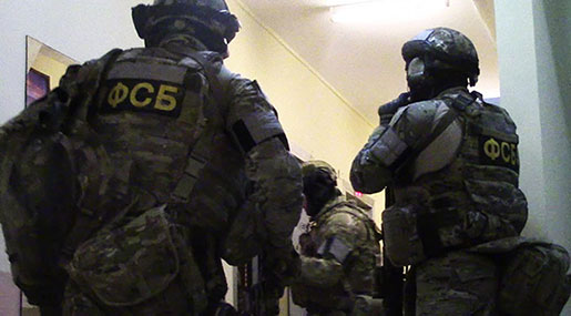 Russia: Leader of Daesh Cell Blows Himself Up During Detention