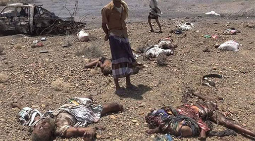 Yemen Can't Wait: 18 Martyred, Several Injured in a New Saudi Massacre in Taiz [Graphic content]