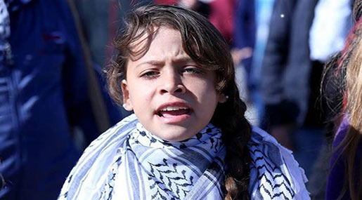 Watch the World's Youngest Reporter from Nabi Saleh, Occupied Palestine!