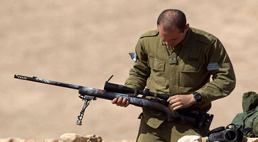 Report: UK Sells $445m of Arms to «Israel», Including Sniper Rifles