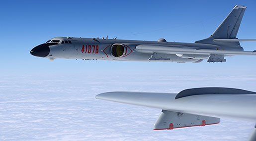 China Sends New Bombers around Taiwan in another Show of Force