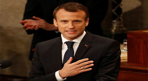 Macron at the US Congress: Will Not Leave JCPOA