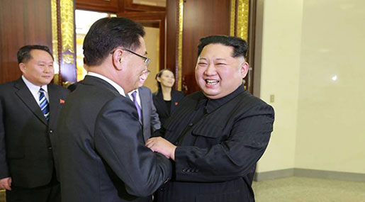 Koreas: Leaders Kim, Moon Sign Joint Denuclearization Agreement