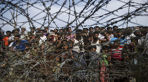 Rohingya Crisis: Thousands Flee Fresh Clashes in Northern Myanmar