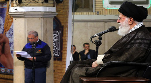 Imam Khamenei on Labor Day: If the US Stood against US, It Will Certainly be Defeated
