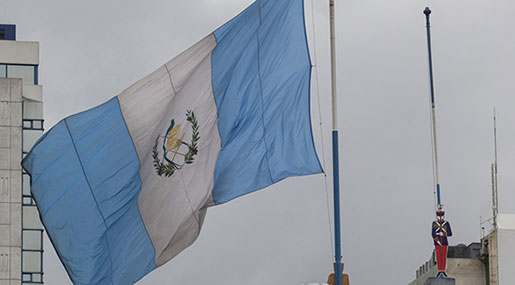 Guatemala Flies Its Flag over New Embassy Building in Occupied Al-Quds