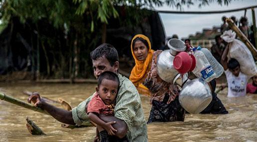 Rohingya Crisis: Refugees in Bangladesh vulnerable to incoming monsoon