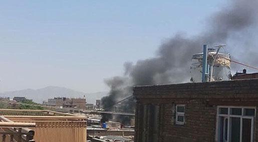 Huge Explosions Rock Afghan Capital, Casualties Feared