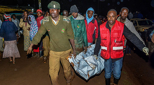 Kenya: Over 20 Feared Dead After Dam Bursts
