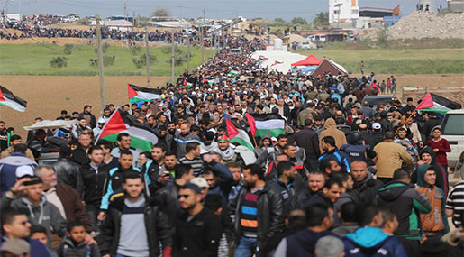 Palestine Reacts to US Embassy Move with Massive Return Day Rallies