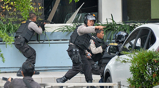 Suicide Attack at Surabaya's Police HQ Claims Lives of 7 Officers