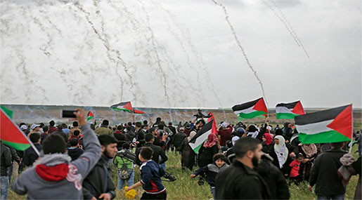 Great Return March: 59 Palestinians Martyred, 2700+ Injured