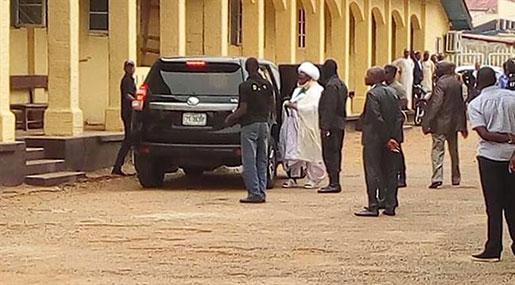 Nigeria Crackdown: Sheikh Ibrahim Zakzaky Appears Before Kaduna Court