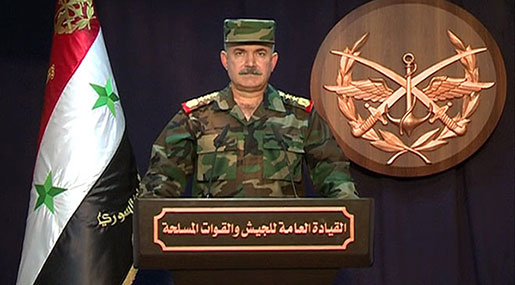 Syrian Army Command: New Areas in Homs, Hama Countryside Liberated