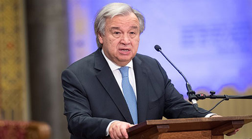 UN Chief Guterres Supports EU Efforts to Preserve Iran Deal