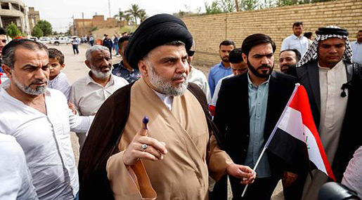 Cleric Moqtada Sadr's Alliance Wins Iraq's Parliamentary Elections