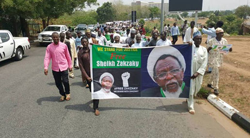 AI Urges IMN to Seek Sheikh Zakzaky's Justice beyond Nigeria