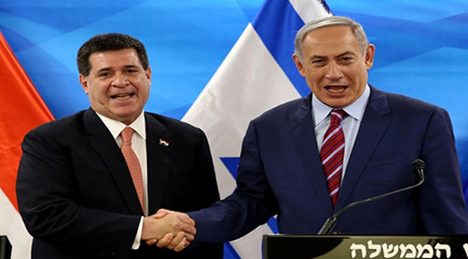 After US & Guatemala, Paraguay Opens Embassy in Al-Quds