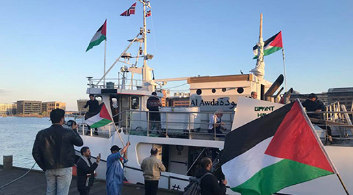 Pro-Palestine Flotilla Departs Copenhagen to «Break the Siege» on Gaza