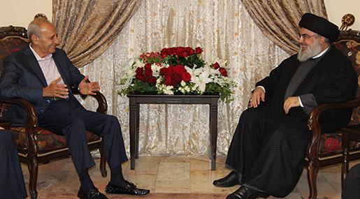 Sayyed Nasrallah Meets Lebanon's Parliament Speaker Berri