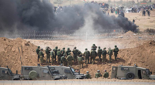 «Israeli» Top Court «Gives Green Light» to Use of Live Fire in Gaza