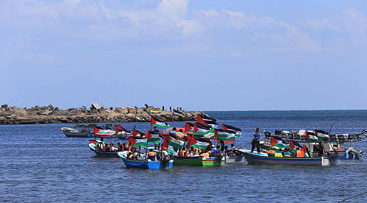 Flotilla Carrying Wounded Set for Bid to Break 'Israeli' Gaza Siege