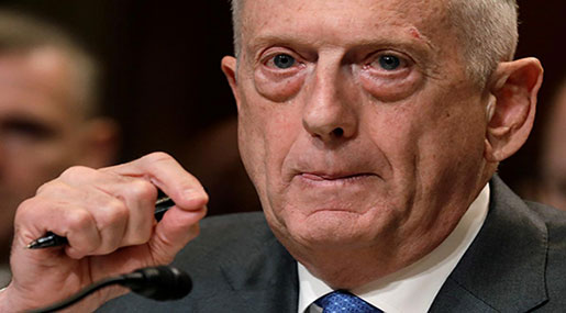 Mattis: US to Continue Military Exercises in South China Sea