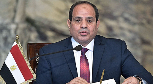 Egypt's Sisi to Be Sworn In for Second Term by End of Week