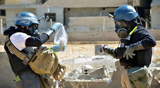 US Preparing New Chemical Weapons Play in Syria, Report