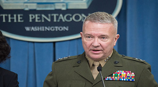 Pentagon 'Warns' Al-Assad against Attacking Kurdish-Led Forces