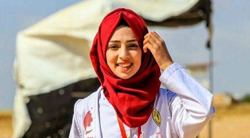 A Woman Dedicated to Saving Lives Loses Hers in Gaza