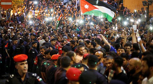 Jordan: King Abdullah Calls for Tax Review as the Kingdom Faces Largest Protests in Years