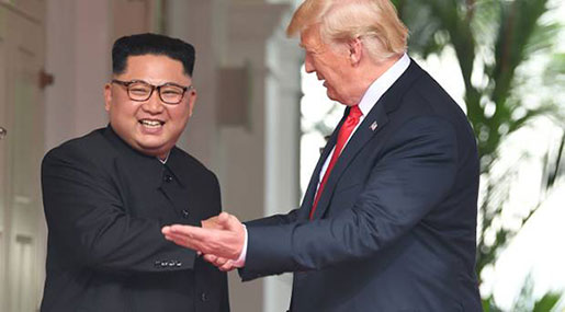 Trump-Kim Summit to End with 'Signing'