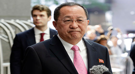 N. Korean FM: Netanyahu A Stinking Zionist Who Kills Gaza