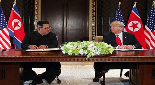 N Korean Media: US Aims to End Sanctions as Trump Speaks of 'New Future'