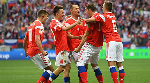 Russia Opens World Cup with Historic 5-0 Win Over Saudi Arabia