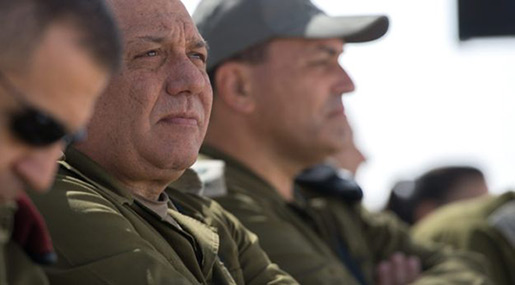 «Israeli» Army Chief Eisenkot to Retire in Six Months