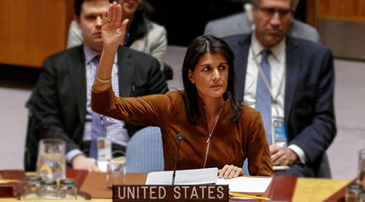 US to Leave «Foolish, Unworthy» UNHRC over Anti-«Israel» Bias