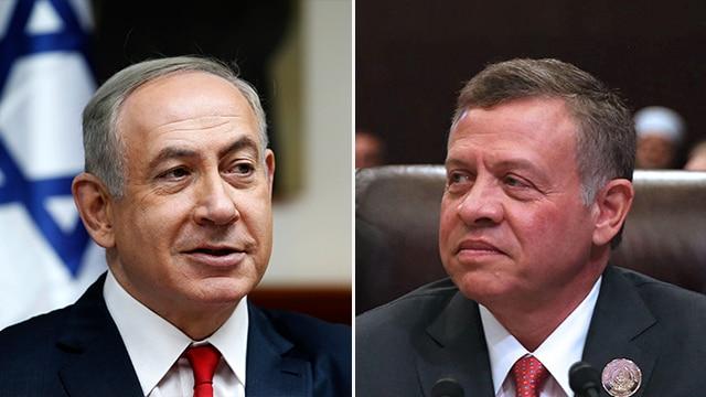 Netanyahu Meets Abdullah II in Amman