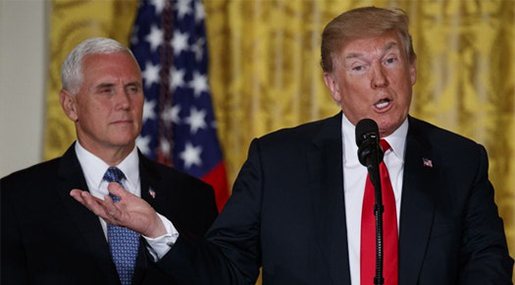 Trump Announces Plans for Pentagon to Create A US 'Space Force'
