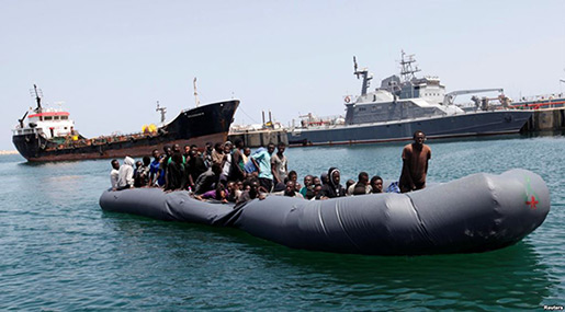 Libya's Coast Guard Recovers 5 Bodies, Rescues Hundreds of Migrants